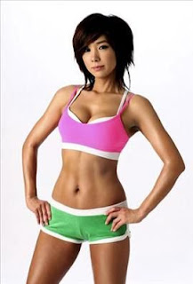 korean girls slim
