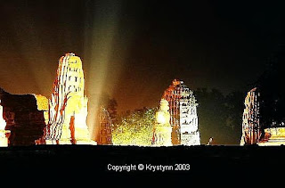 light show ayutthaya