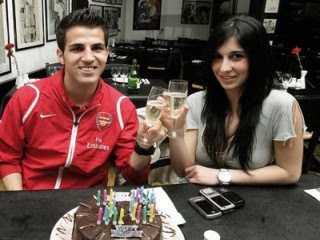Arsenal Cesc Fabregas Spanish Girlfriend Carla Cesc_Fabregas_girlfriend_carla_9
