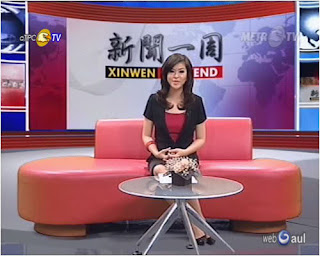 Sumi Yang Photos, Presenter Metro Xin Wen on Metro TV