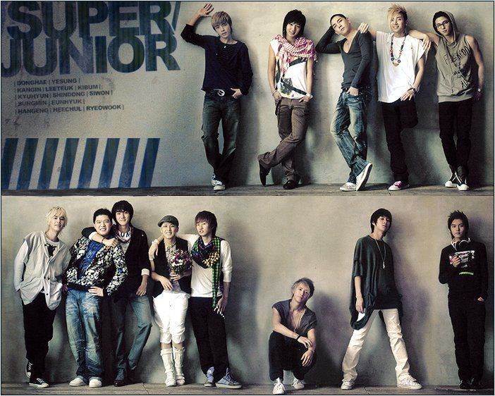 Super Junior Korean Band Members