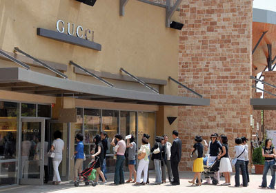 Yeoju Premium Outlet Gucci Shop