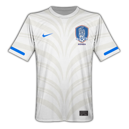 South Korea World Cup 2010 Away Jersey