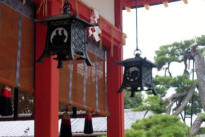 fushimi inari lanterns kyoto