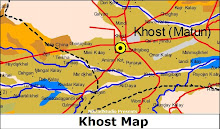 Khost City Map