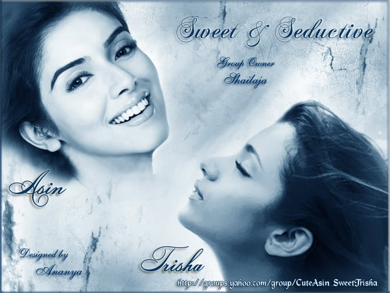 trisha wallpaper. Asin - Trisha Creation