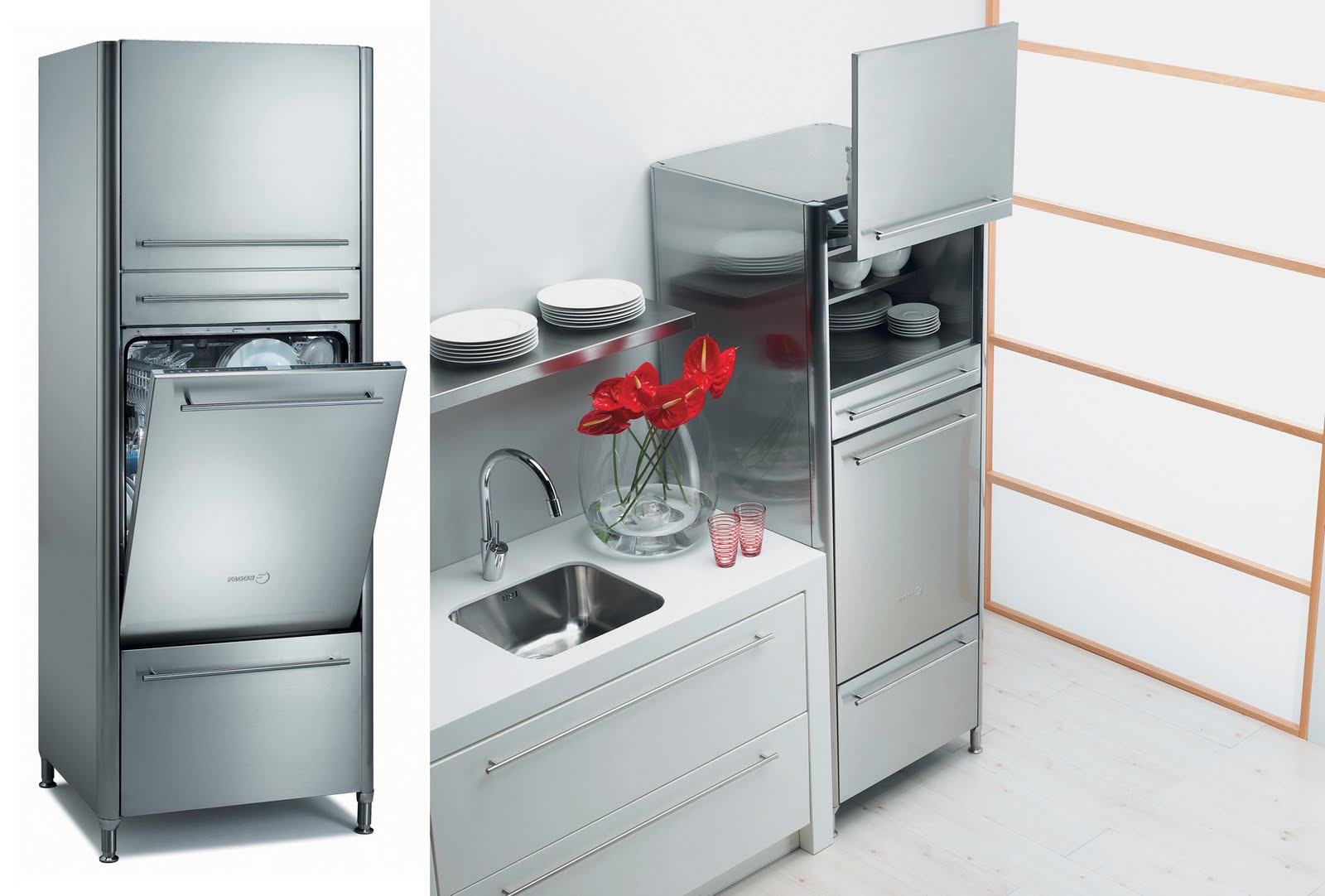 The kitchen and bath people design ideas for your small for Small dishwashers for small kitchens