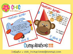 Invitaciones de Cumpleaos