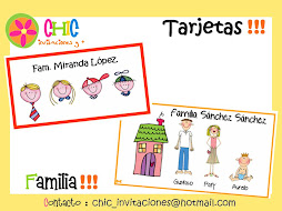 Tarjetas de Familia