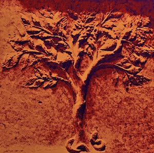 Árbol en llamas