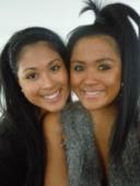 My beautiful sisters, Vicki and Julia
