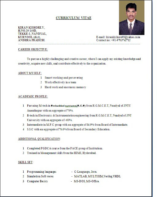 welcome to kiki s blog sample resume format examples