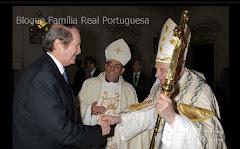 Família Real em Fátima, a 13 de Maio de 2010.