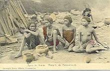 Raparigas Humbe - Planalto de Mossãmedes - Angola