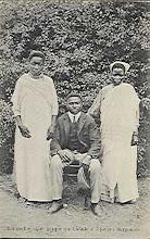 Familia burguesa no jardim de Benguela- Angola