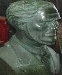 Busto de Bernardino Freire de Figueiredo Abreu e Castro, fundador de Moçâmedes (1809-1871)