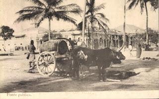 Mossamedes: Rua da Praia do Bonfim, Avenida , Edificio da Alfandega