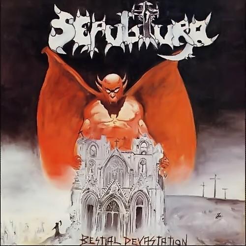 Sepultura     Bestial Devastation and Morbid VisionsSepultura Chaos Ad Album
