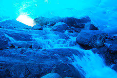 Waterfall in the Ice Cave