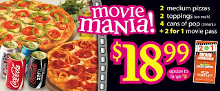 Pizza Pizza Movie Mania ,