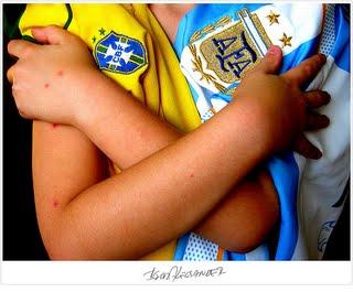 Resultado de imagem para brasil 4x1 argentina