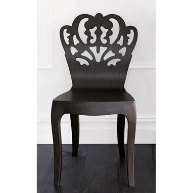 Bent wood side chair @ Brocade