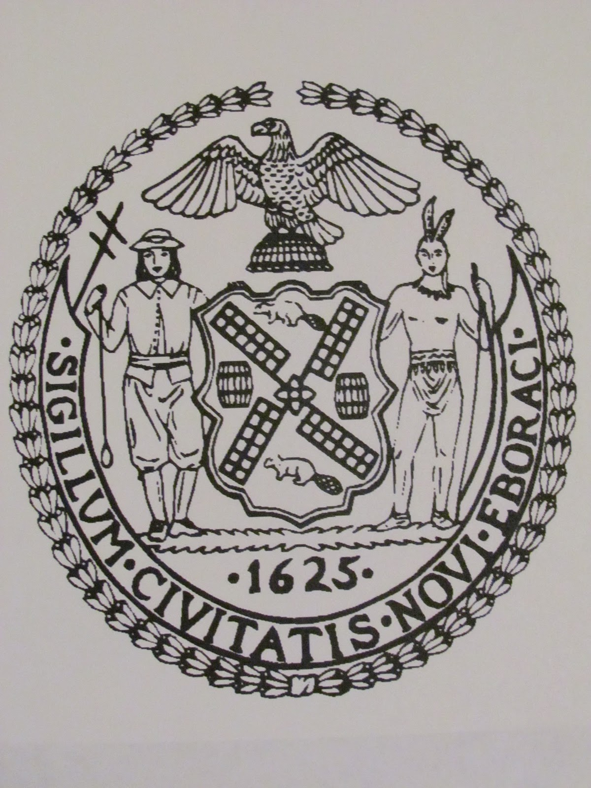 Manhattan unlocked decoding the seals of the city of new york manhattan unlocked biocorpaavc Choice Image