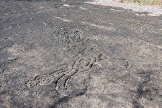 Petroglyph's, Zapatera Archipelago, Nicaragua