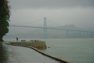 Lions Gate Bridge, Vancouver, BC, Canada