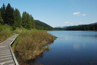 Rolley Lake Provincial Park, British Columbia, Canada