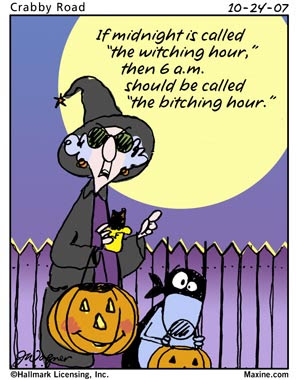 Melange: Happy Halloween from Maxine