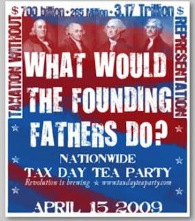 Celebration of Tax Day: Tea Anyone?
