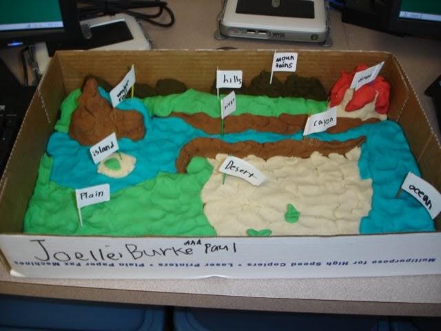 Mrs Kehrier S Class Blog 3d Landform Maps