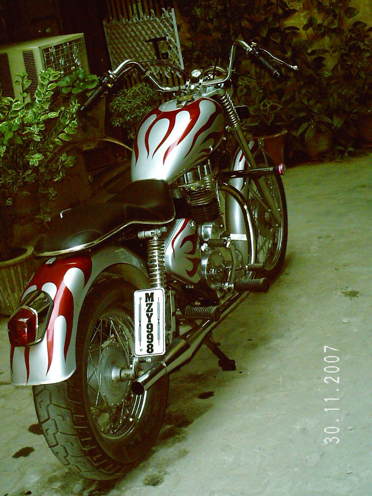 Royal Enfield Bullet Modified