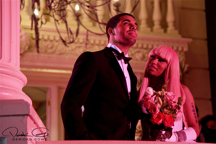 nicki minaj and drake kiss. Nicki Minaj; drake kissing.