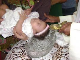 Batizado e 3°mes