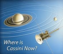 Actual situación Cassini en Saturno