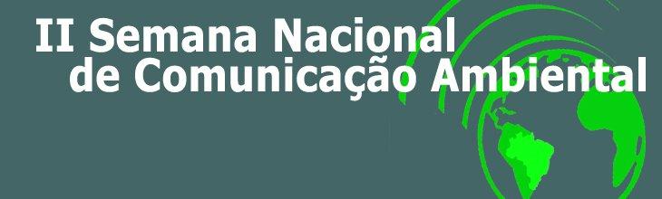 II Semana de Comunicação Ambiental da UFRJ