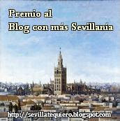 Premio blog con ms Sevillana