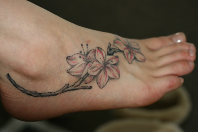 friend tattoos. Foot Tattoo Designs