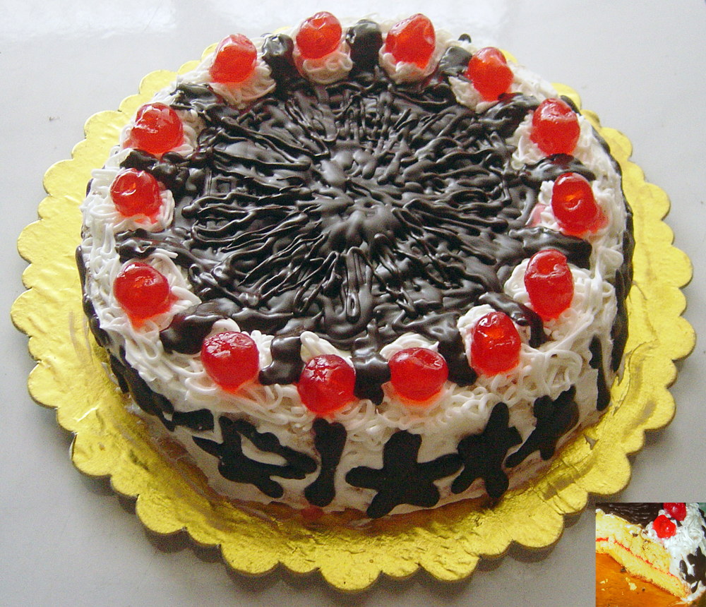 Robet White Forest Cake