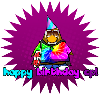 Think The Party Hat Will Look Like For The 4th Anniversary Party