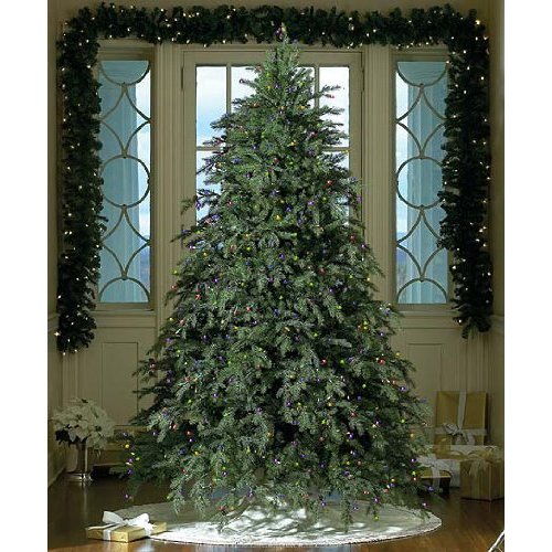 How To String Lights On A Fake Christmas Tree : Christmas Trees Free Shipping: 9 Foot Artificial Christmas Tree