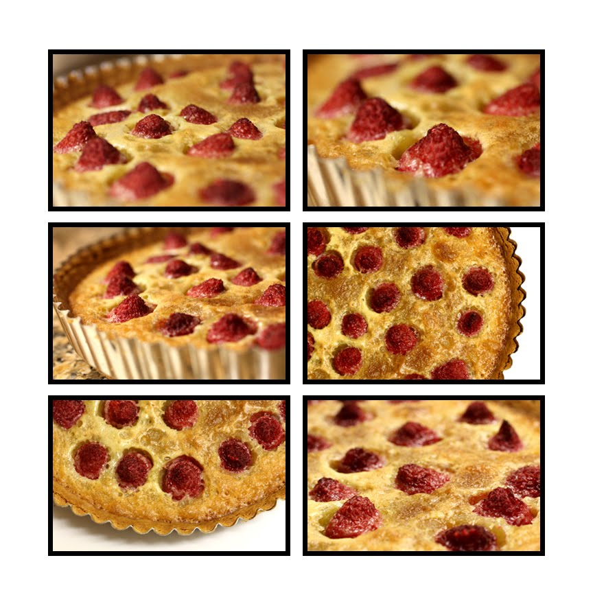 Picture Perfect Passion Phood: Brown Butter Raspberry Tart