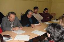 TALLER LITERARIO VIDA Y OBRA DE EFRAÍN BARQUERO MAYO 2009