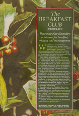 The Breakfast club was first published in Watercolor magazine in 1996