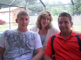 Kyle, Brad and I