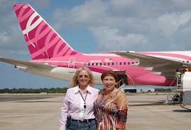 Delta's Pink Plane