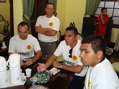 Diretores da Anaspra em Santa Catarina