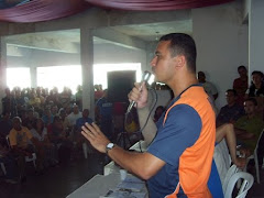 Sargento Araújo discursando para a tropa no Rio Grande do Norte